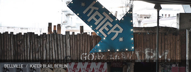 Bellville Kater Blau Berlin