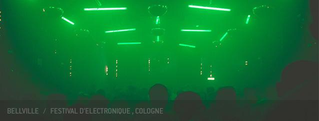 Bellville Festival d'electronique Heinz Gaul Cologne