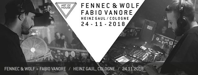 Fennec & Wolf Fabio Vanore Art of House Heinz Gaul
