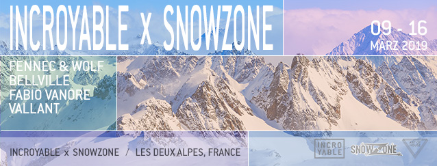Incroyable x Snowzone 2019