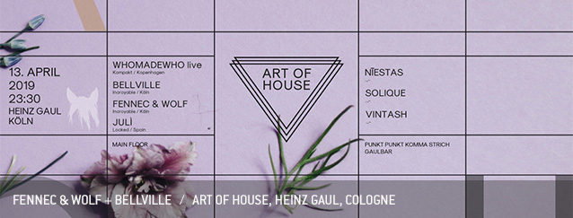 Fennec & Wolf Bellville WhoMadeWho Art of House Heinz Gaul