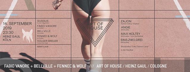 Fabio Vanore Bellville Fennec & Wolf Art of House Heinz Gaul Cologne