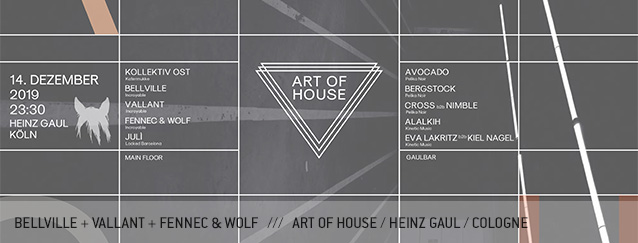 Bellville Vallant Fennec & Wolf Art of House Cologne Heinz Gaul