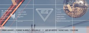 Fabio Vanore Fennec & Wolf Bellville Incroyable Art of House Heinz Gaul