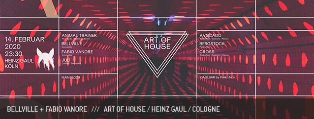 Bellville + Fabio Vanore at Art of House, Heinz Gaul